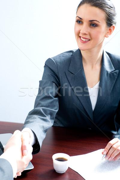 Photo stock: Affaires · accord · portrait · professionnels