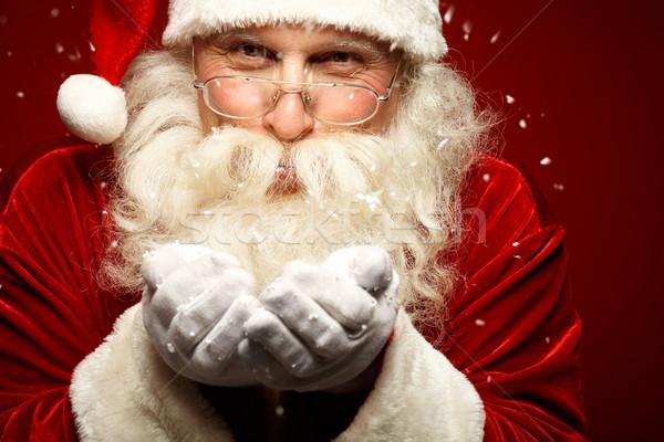 метель Дед Мороз снега Сток-фото © pressmaster