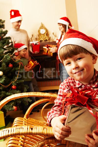During christmas Stock photo © pressmaster