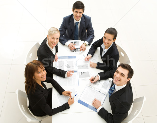 Stock photo: Co-workers