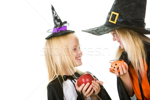 Two little witches Stock photo © pressmaster
