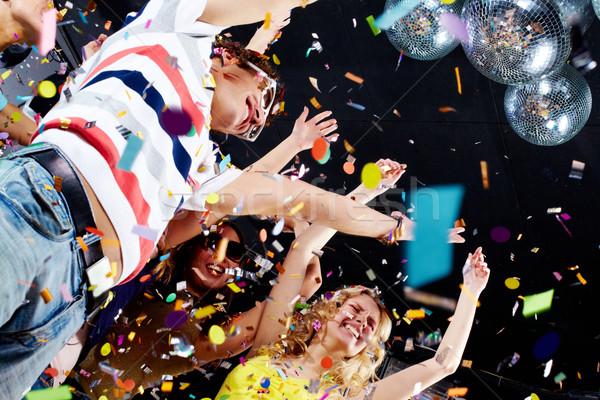 Alegre amigos foto adolescentes Foto stock © pressmaster