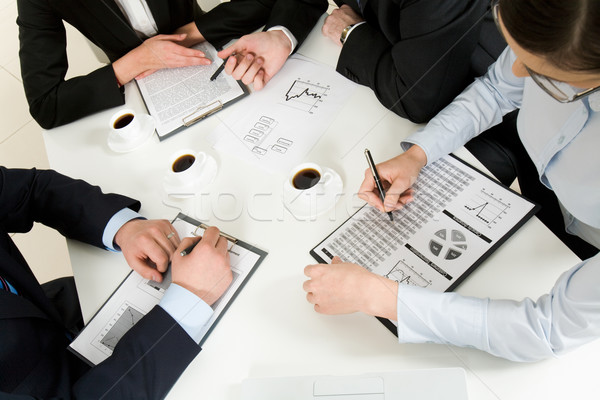 Discussing plan Stock photo © pressmaster