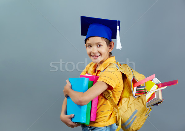 Stock photo: Small genius