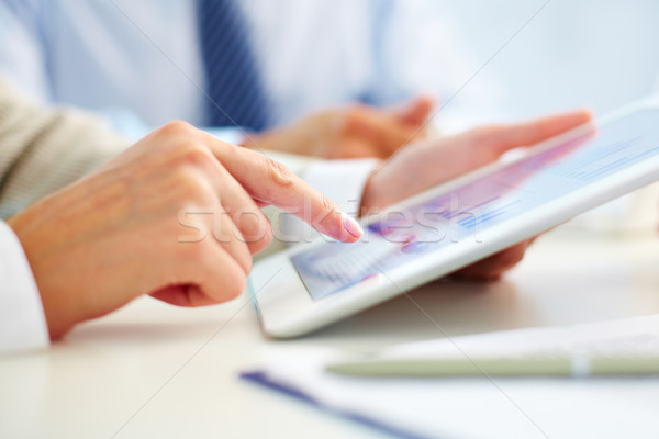 Advanced business Stock photo © pressmaster