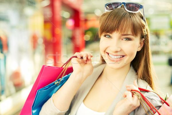 Stock photo: Happy customer
