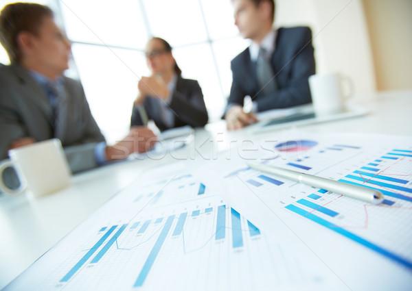 Business documents Stock photo © pressmaster