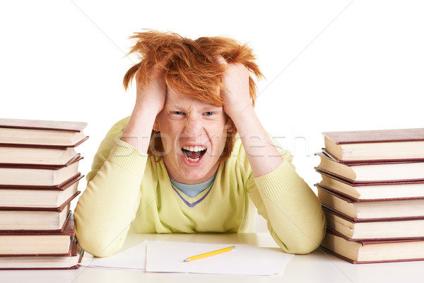 Sick and tired Stock photo © pressmaster