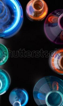 Circle of tubes Stock photo © pressmaster