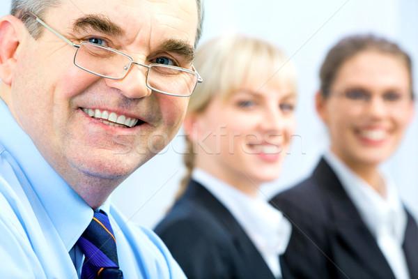 Face of senior Stock photo © pressmaster
