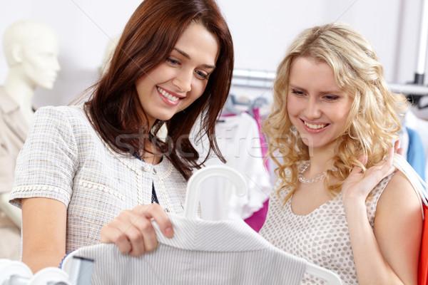 Two shoppers Stock photo © pressmaster