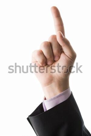 Pointing upwards Stock photo © pressmaster