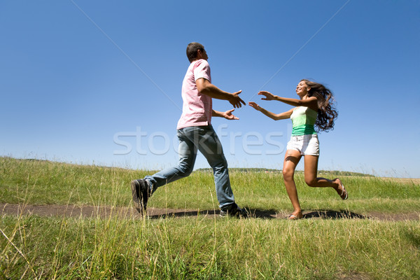 Energetic couple Stock photo © pressmaster