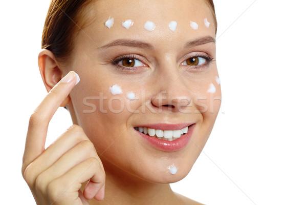 Hydrating skin Stock photo © pressmaster