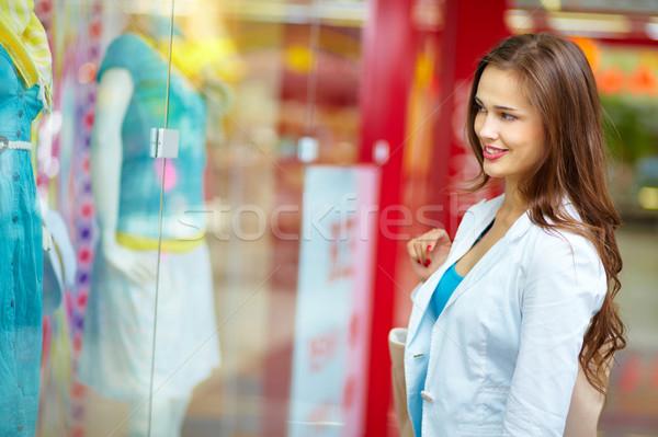 Window-shopping Stock photo © pressmaster