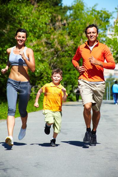 Healthy runners Stock photo © pressmaster