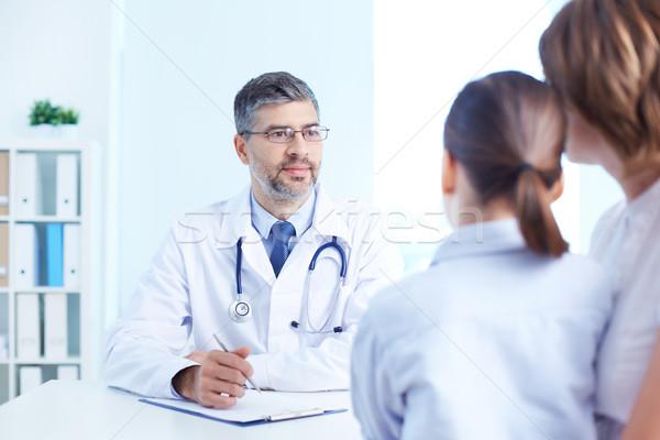 Listening to patient Stock photo © pressmaster