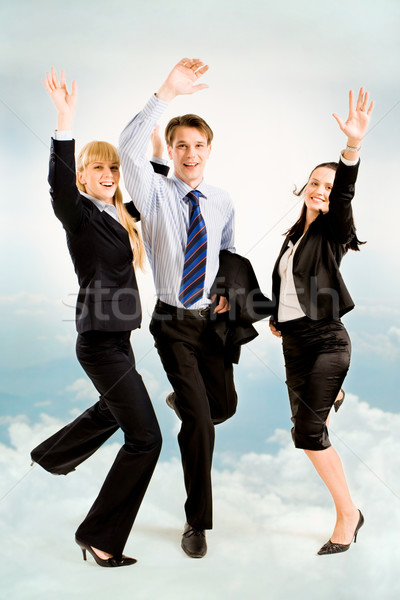 Joyful business people Stock photo © pressmaster