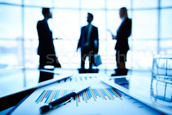 Photo stock: Affaires · objets · technologique · financière · document