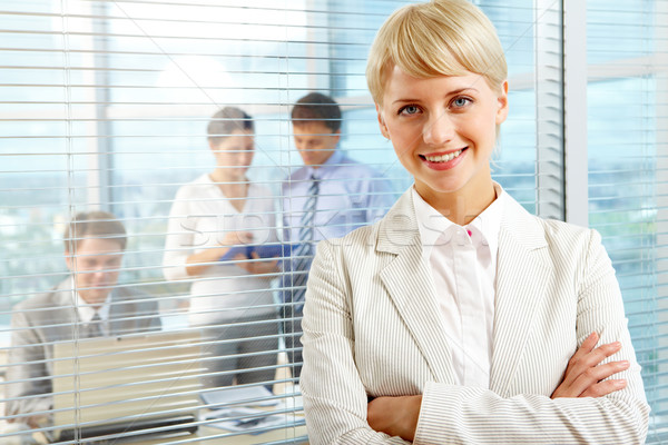 Female leader Stock photo © pressmaster