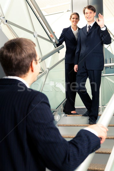 Meeting of business partners  Stock photo © pressmaster