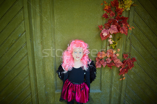 Halloween portrait Stock photo © pressmaster