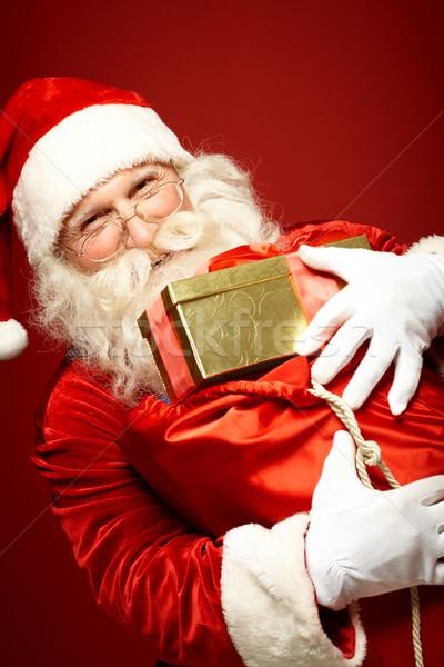 Cheerful Santa Claus Stock photo © pressmaster