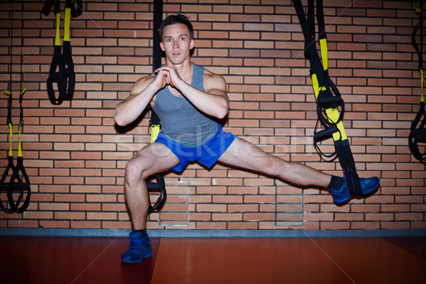 Training for legs Stock photo © pressmaster