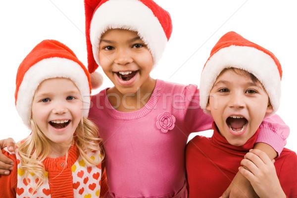 Joyful children Stock photo © pressmaster