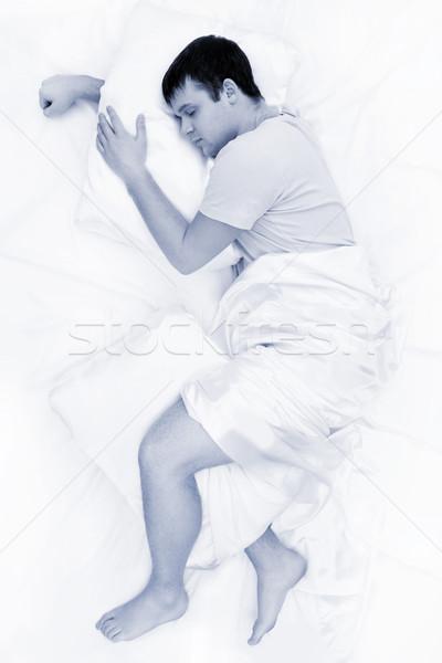 Foto d'archivio: Profondità · sonno · immagine · stanco · maschio · dolce