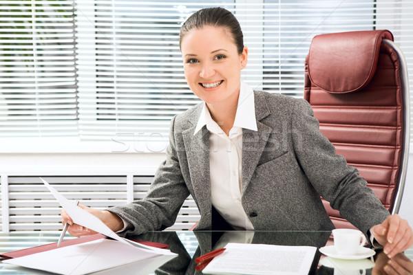 Female at work Stock photo © pressmaster