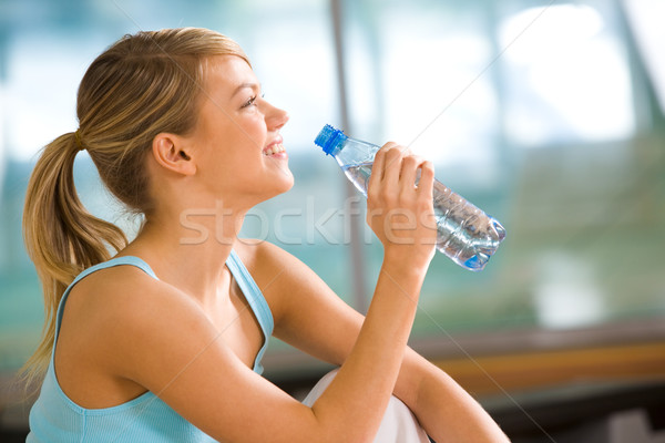 A drink of water Stock photo © pressmaster