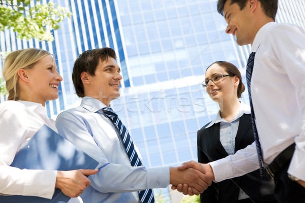 Business deal Stock photo © pressmaster