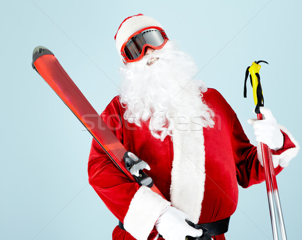 Sporty Santa Stock photo © pressmaster
