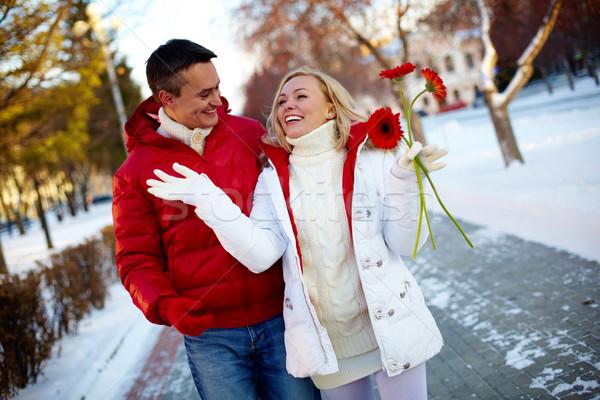 Walking couple Stock photo © pressmaster