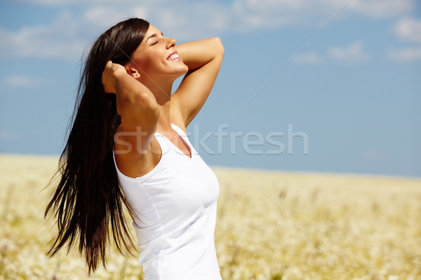 Summer girl Stock photo © pressmaster