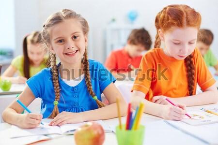 Group of schoolchildren Stock photo © pressmaster