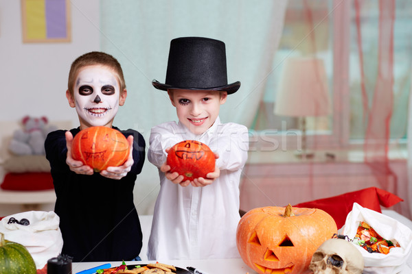 Halloween evening Stock photo © pressmaster