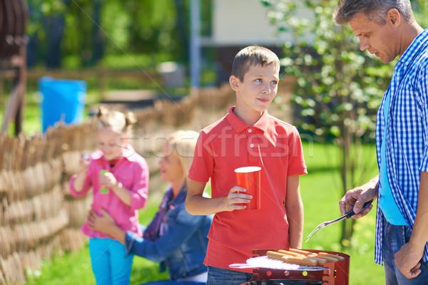 Having picnic Stock photo © pressmaster