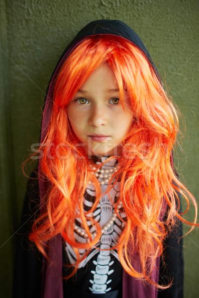 Girl in wig Stock photo © pressmaster