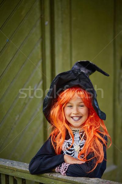 Child of Halloween Stock photo © pressmaster