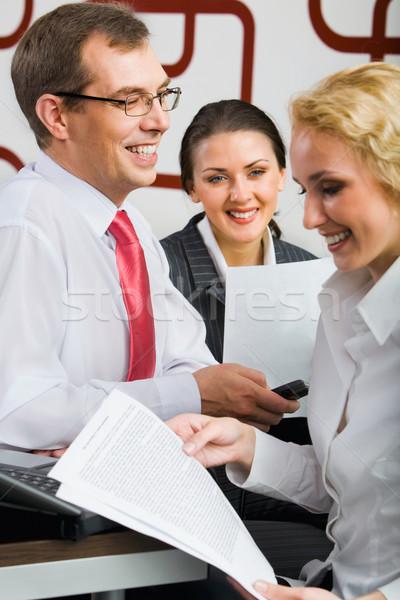 Partnership Stock photo © pressmaster