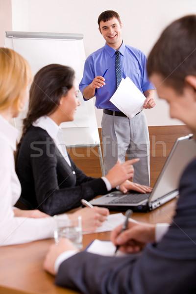 Business seminar Stock photo © pressmaster