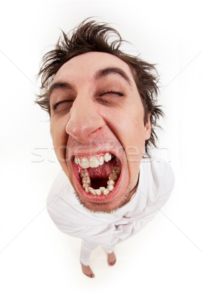 Aggressive man Stock photo © pressmaster