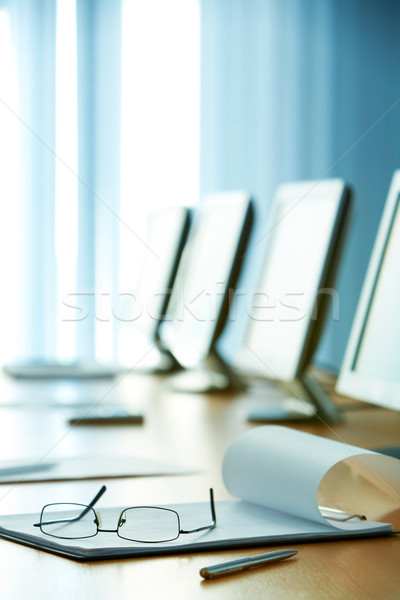 In conference hall Stock photo © pressmaster