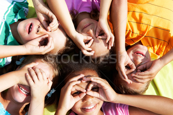 Stock photo: Having fun