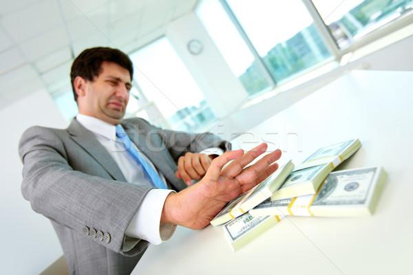 Refusing to take bribe Stock photo © pressmaster