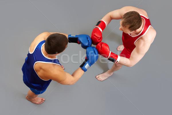 Saluto due altro sport corpo Foto d'archivio © pressmaster