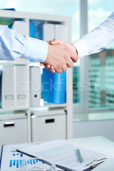 Business support Stock photo © pressmaster