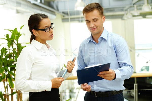 Business considerations Stock photo © pressmaster